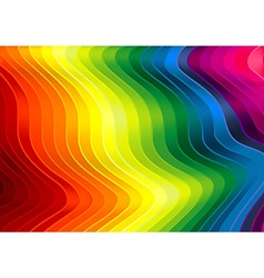 Rainbow Striped Texture vector image