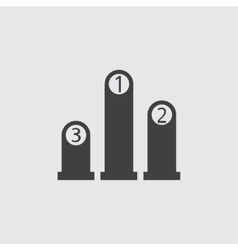 Ranking icon vector