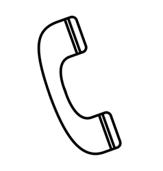 Phone telephone call service icon vector