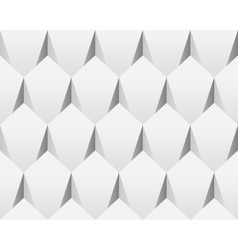 White 3d abstract seamless texture vector
