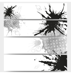 Abstract hand drawn spotted background with empty vector