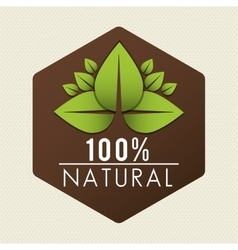 Natural green ecology vector