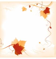 Autumn background vector