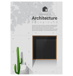 elements of architecture window background 10 vector image vector image