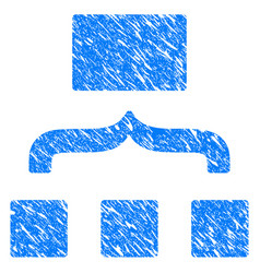 scheme grunge icon vector image vector image