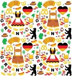 Oktoberfest germany elements vector