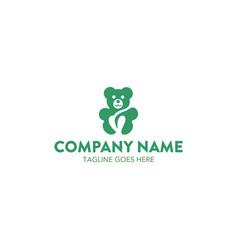 bear logo-12 vector image