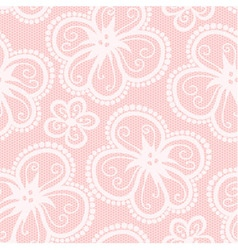 Black and pink lacy corset on white background vector