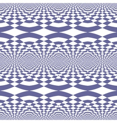 Seamless fancy op art pattern vector