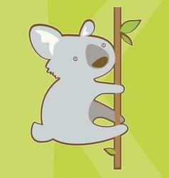 little koala bear vector image