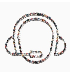 people man consultant icon vector image