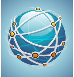 network icon vector image