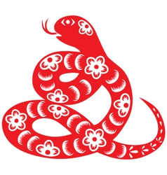 Chinese new year snake vector