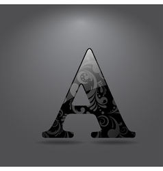 Letter a vector
