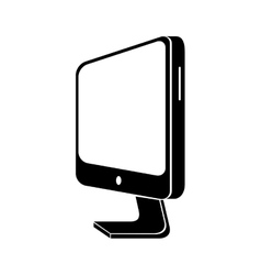 monitor pc computer device technology electronic vector image