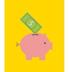 savings icon design vector image vector image