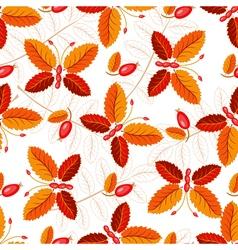 Seamless autumnal pattern vector