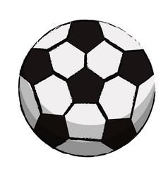 Soccer sport ball image vector