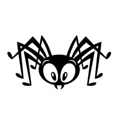 spider bug insect graphic vector image vector image