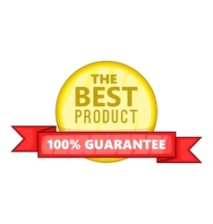 The best product icon cartoon style vector