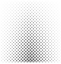 Black white star pattern - abstract background vector