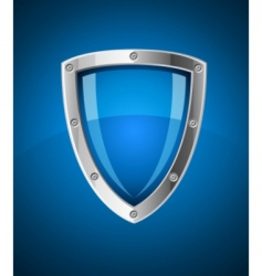 Security shield symbol icon vector