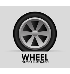 Wheel tire vector