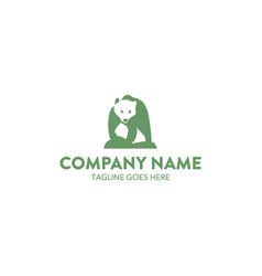 bear logo-11 vector image