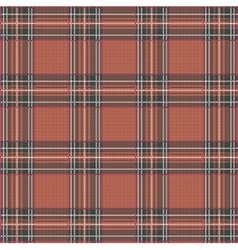 Tartan Plaid Pattern Background with Fabric vector image