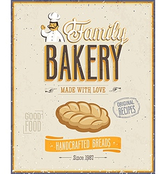 bakery2 vector image