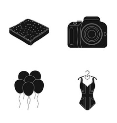 Cooking celebration and other web icon in black vector