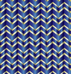 Chevron blue ribbon vector