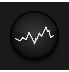 app circle stock black icon Eps10 vector image vector image