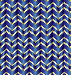Chevron blue ribbon vector image vector image