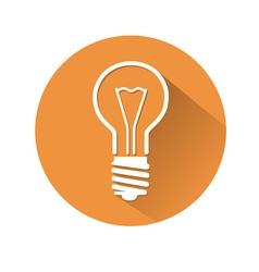 Lamp symbol vector