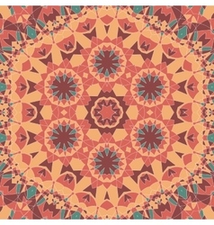 Seamless oriental square pattern vector image vector image