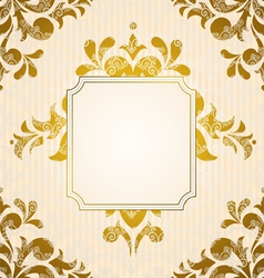Vintage tapestry background vector image vector image