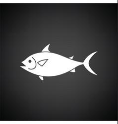 Fish icon vector
