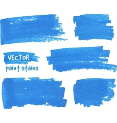 Spot of paint drawn by felt pen vector
