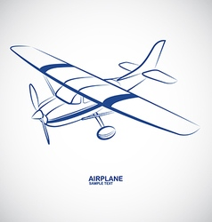 Airplane 6 vector