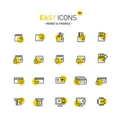 Easy icons 09d money vector