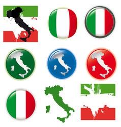 Italian symbols vector