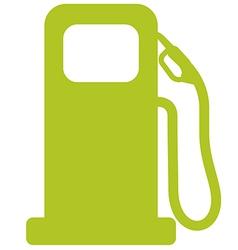 Fuel tank vector image