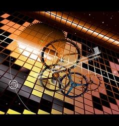 clockwork vertigo vector image