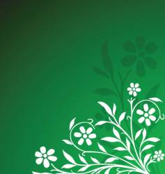 floral vector image