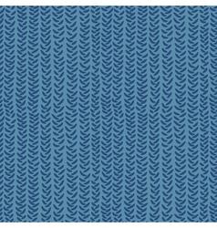 knitting seamless pattern vector image vector image