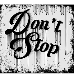 Vintage Slogan T shirt Graphic Design vector image vector image