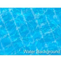 Water in the pool vector