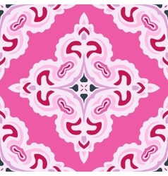 Pink abstract seamless pattern tile vector
