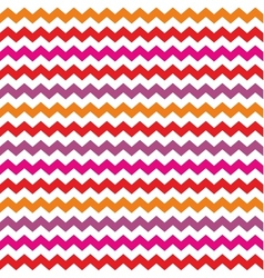 Chevron seamless colorful pattern or background vector image vector image